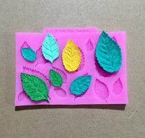 BK1121 Leaf silicone mold cake decorative plaster