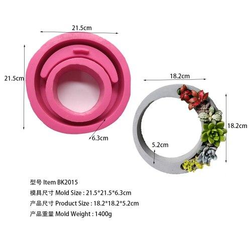 BK2015 fleshy flowerpot wreath creative modeling home furnishing gift model
