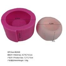 Bk2040 Creative Geometric Polygon Concrete Flower Pot