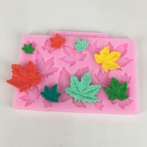 BK1067 Silicone Maple Leaf Mold For