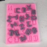 BK1019 Letters Alphanumeric Symbols Silicone