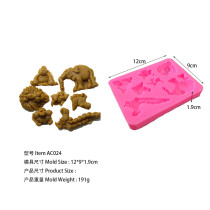 Elephant Lion Hippocampus Monkey AC024