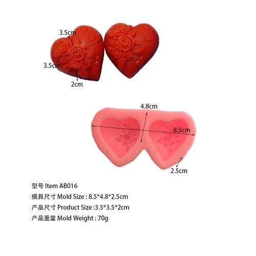 double heart AB016