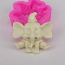 BK1103 DIY Baking Mold Elephant Cake