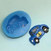 B1007 Small Size Car Silicone Mold Cartoon Fondant Cake Decoration