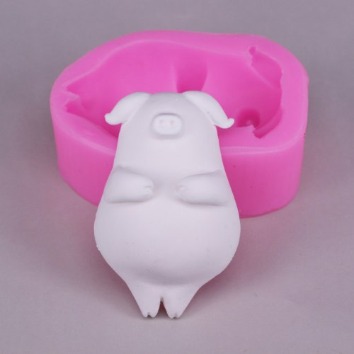 Bk1107 cute piggy plaster decoration