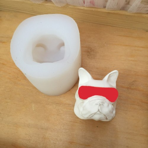 BK1125 Dog Cake Decorating  Perfumed Plaster