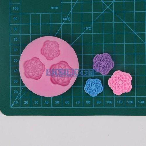Candle flower molds N1025