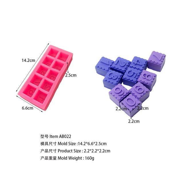 0-9 Numerals AB022
