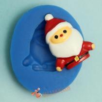 A1016 Santa Claus Christmas  Fondant Tools  Cake