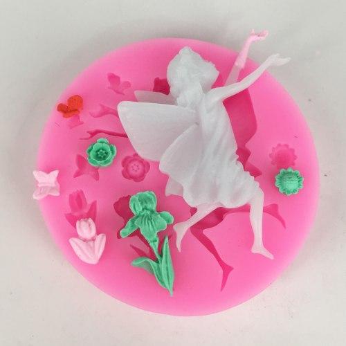 BK1069 Angel Fairy Silicone Fondant