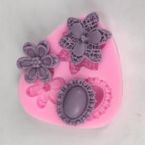 BK1006 Flower Silicone Molds
