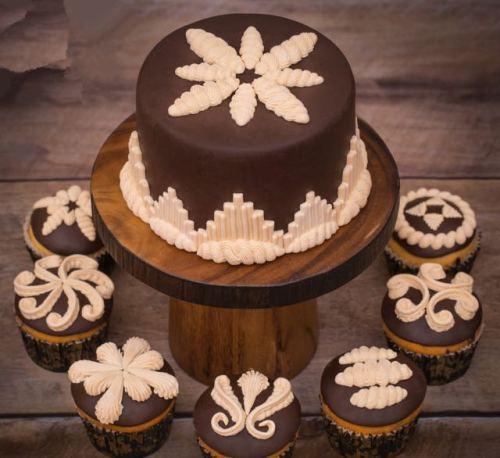 BK1028 Cake Flip Sugar Mold Chocolate Silicone