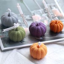 Bk1191 stereo Pumpkin Halloween Pumpkin Mousse Cake