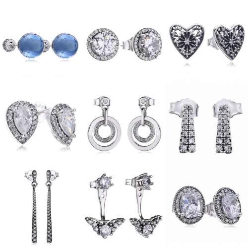 Stud Earring 925 Sterling Silver For Women