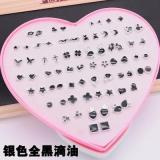Cartoon Hypoallergenic Plastic Stud Earrings Women Girl