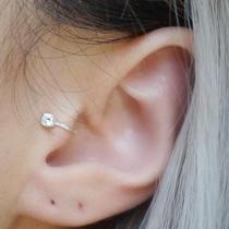 Women Non Piercing Clip Earring Punk Ear