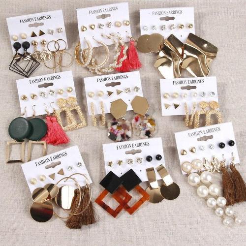 Drop Earrings For Women Bohemian Tassel
