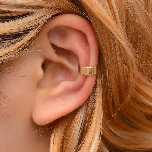 Non Pierced Clip Earring Trendy Punk Antique Color