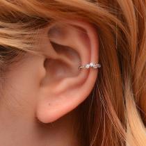 Non Pierced Clip Earrings Women Trendy Punk Small