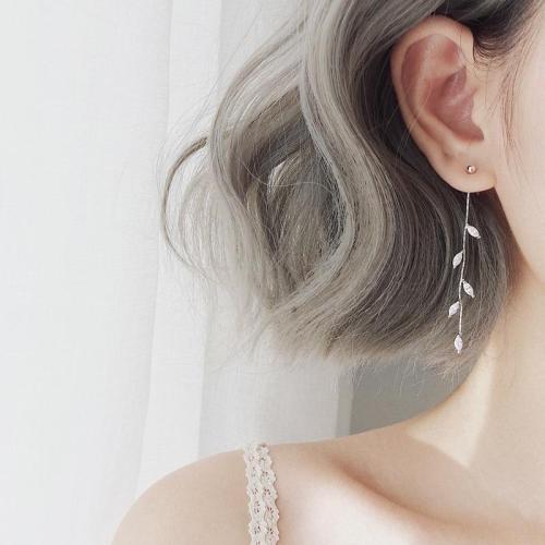 925 Solid Sterling Silver Drop Earrings for Women