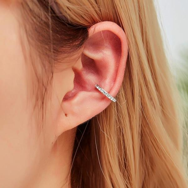 Non Pierced Earrings Nose Ring Women punk rock earcuff