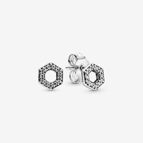 925 Sterling Silver Stud Earrings Women