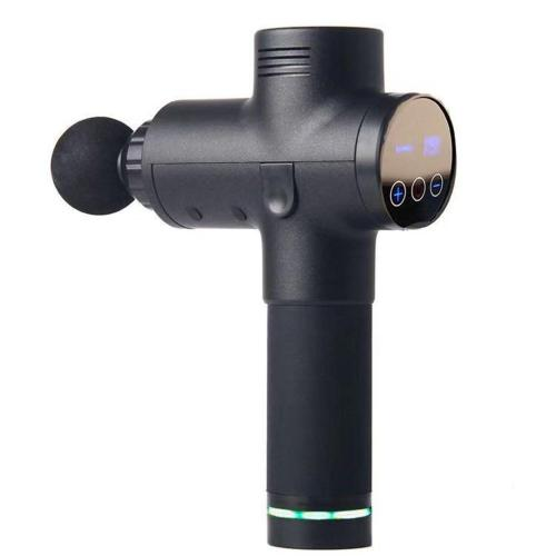 Fascia Gun Myofascial Physiotherapy Instrument Mute Touch Screen Fascia Gun