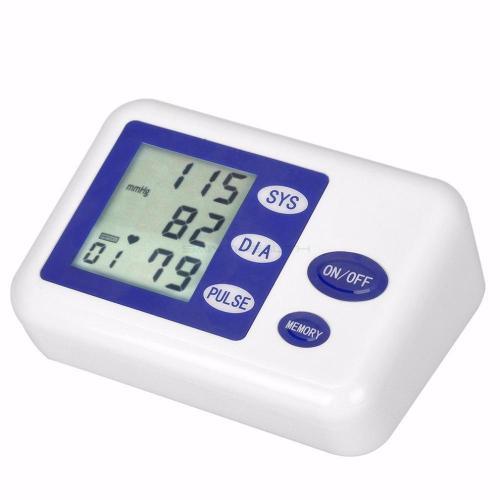 Electronic Sphygmomanometer Home Blood Pressure Meter Digital Blood Pressure Monitor/Single Tube Tonometer Cuff