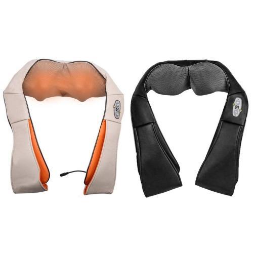 U Shape Electrical Back Neck Shoulder Body Massager Infrared Heated Kneading Car Home Massagerr Multifunctional Shawl new