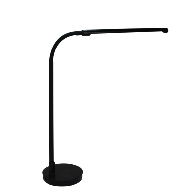 360 lighting angle gooseneck design slim led table lamp for bedroom office hotel