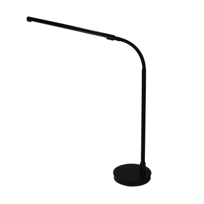 360 lighting angle gooseneck design slim led table lamp for bedroom office hotel