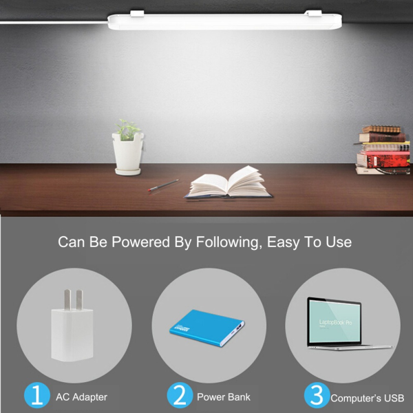 Dimmable USB Powered 5W Reading Strips Craft Light Portable LED Under cabinet Light