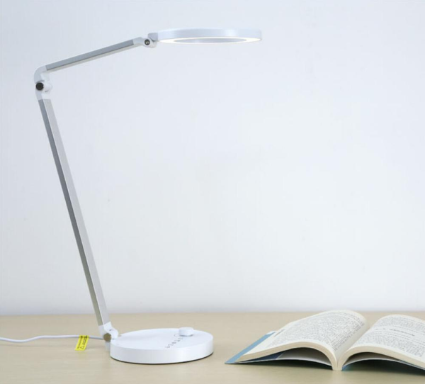LED Desk Lamp Eye-Caring Table Lamp 4 Color Modes with 12 Level of Brightness 1 Hour Auto Timer 5V 1A USB Output