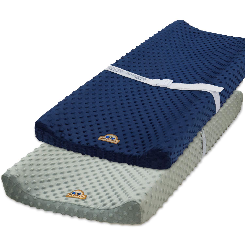 BlueSnail Ultra Soft Minky Dot Chaning Pad Cover