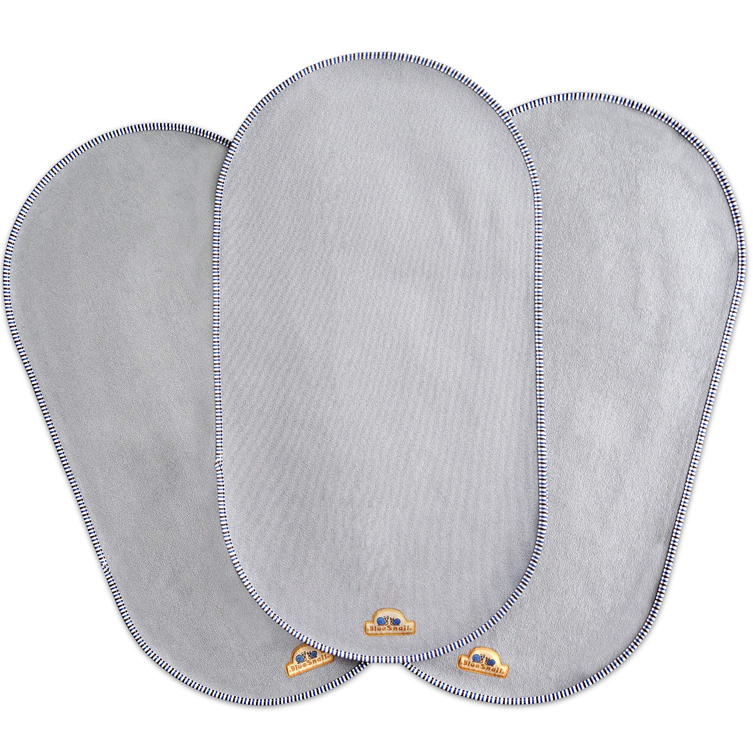 BlueSnail Waterproof Changing Pad Liners 3 Count Bassinet Pad Liner(14 X26.5 )