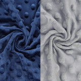 BlueSnail Soft and Strechy Minky Bassinet Fitted Sheet, Cradle Sheets for Bassinet Pad/Mattress 2pk