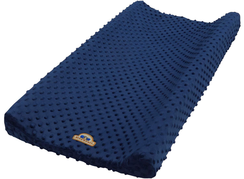 BlueSnail Ultra Soft Minky Dot Changing Pad Cover