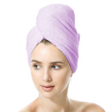 BlueSnail Super Absorbent&Quick Dry Microfiber Hair Towel Wrap for Women, Hair Dry Towel Turban for Mom