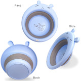 BlueSnail Collapsible Multiuse Folding Wash Basin for Kids and Babies, 2pk