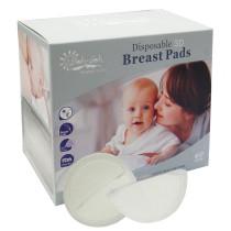 Oleh-Oleh 120pcs Premium Stay Dry Disposable Ultra Thin Nursing Breast Pads for Breastfeeding (2pk, 60pcs Each Pack)