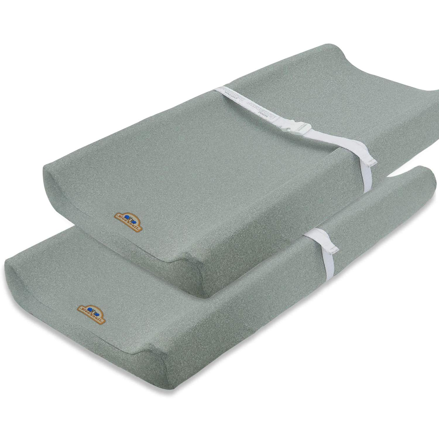 Super Soft and Stretchy Changing Pad Cover 2pk by BlueSnail