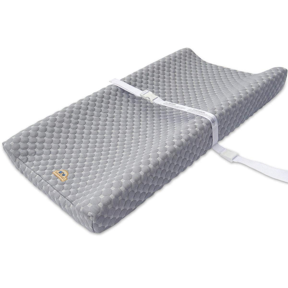 Super Soft and Comfy Bamboo Changing Pad Cover for Baby by BlueSnail