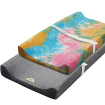 BlueSnail tie-dye Ultra Soft Changing Pad Cover