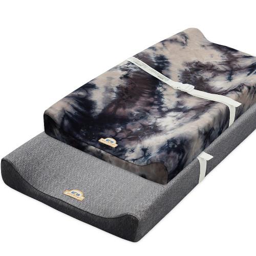 BlueSnail tie-dye Ultra Soft Changing Pad Cover