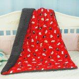 BlueSnail Baby Minky Blanket with Plush Shepra Fleece for Boys and Girls