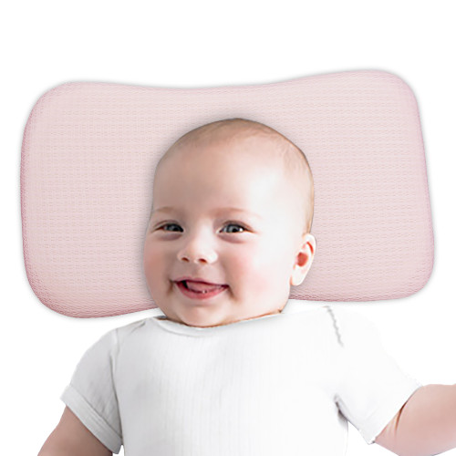 BlueSnail Luxury Soft and Breathable Tencel Pillow for Baby and Toddlers, Baby Head Shaping Pillow for Newborn