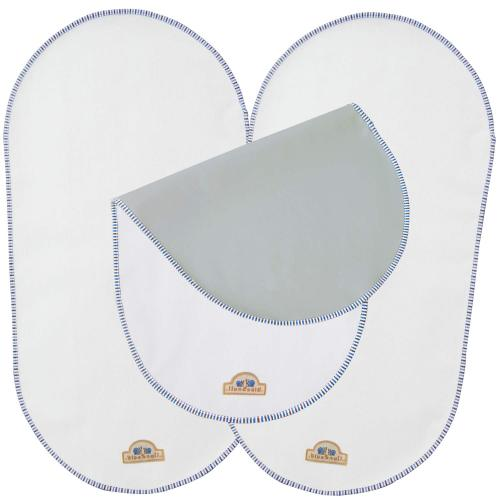 BlueSnail Waterproof Changing Pad Liners for Babies 3 Count