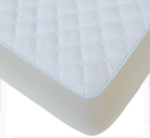 BlueSnail Super Soft Stretchy Fitted Velour Crib Bed Sheet for Standard Crib and Toddler Mattress