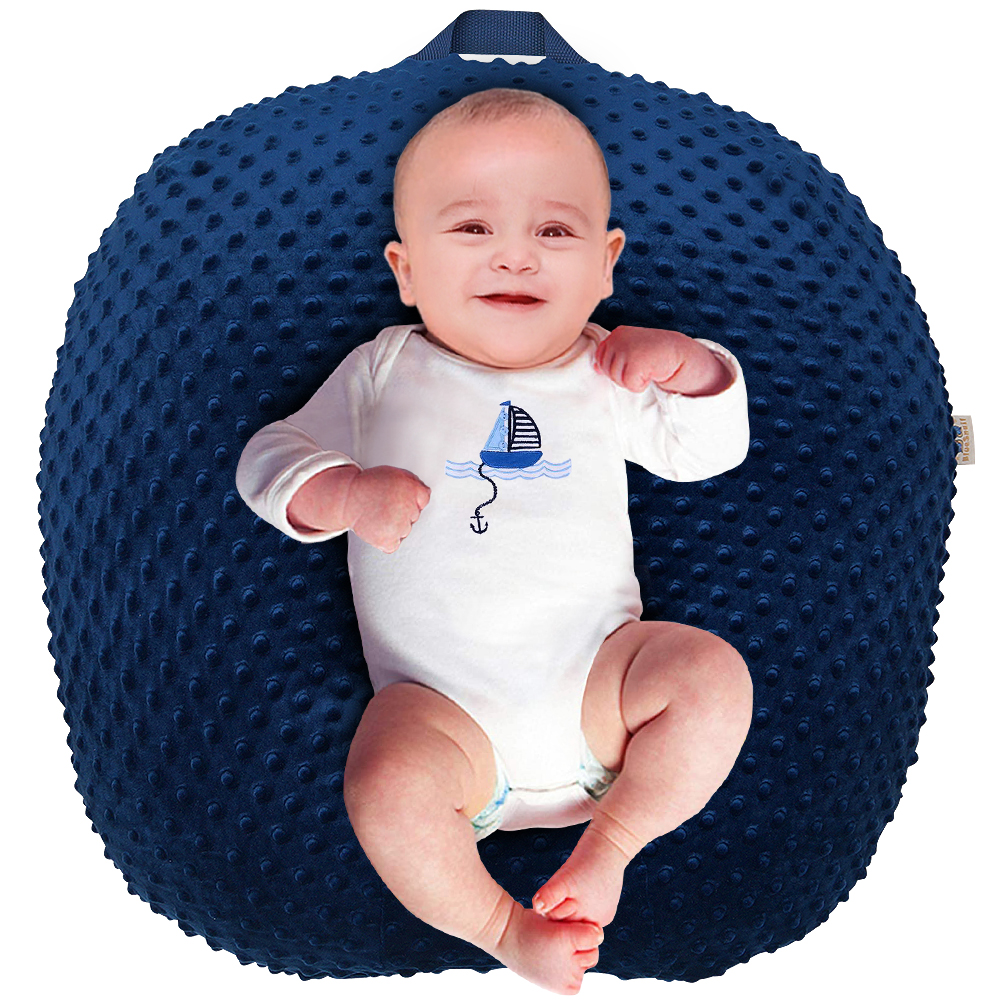 Strechy Minky Newborn Lounger Cover, Removable and Ultra Soft Sung Fitted Baby Lounger Slipcover by BlueSnail